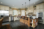 Neoclassical Home Plan Kitchen Photo 01 - 119D-0013 | House Plans and More