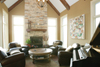 Ranch House Plan Living Room Photo 01 - 119D-0013 | House Plans and More