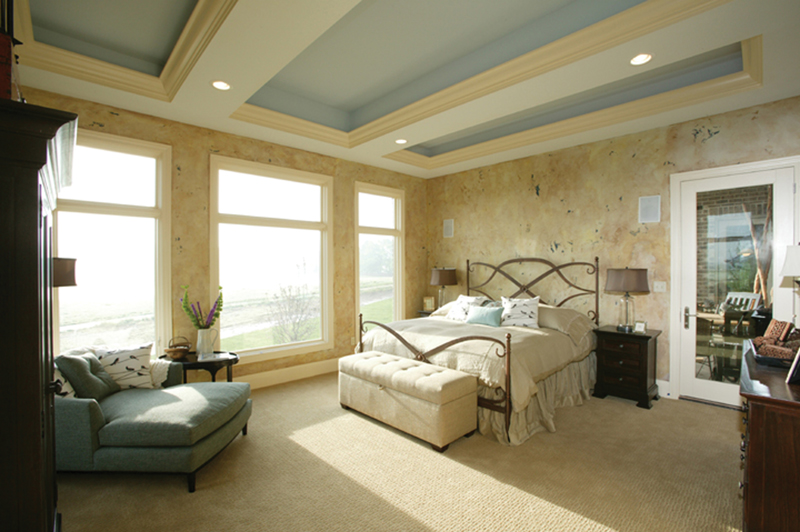 Neoclassical Home Plan Master Bedroom Photo 01 119D-0013