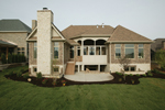 Neoclassical Home Plan Rear Photo 01 - 119D-0013 | House Plans and More