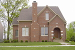 Greek Revival Home Plan Front of Home - 119D-0014 | House Plans and More