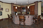 European House Plan Bar Photo - 119S-0001 | House Plans and More
