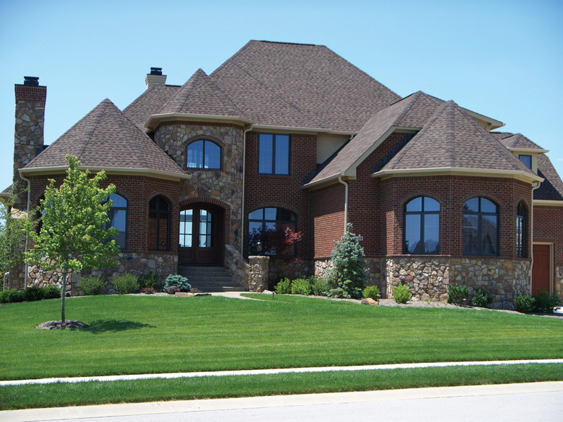 European House Plan Front of Home 119S-0001