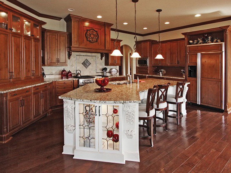 Country French Home Plan Kitchen Photo 01 119S-0001
