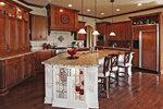 Country French Home Plan Kitchen Photo 01 - 119S-0001 | House Plans and More