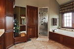 Country French Home Plan Master Bathroom Photo 01 - 119S-0001 | House Plans and More