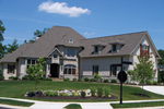 Country French Home Plan Front of Home - 119S-0002 | House Plans and More