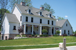 Early American House Plan Front of Home - 119S-0004 | House Plans and More