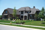 European House Plan Front of Home - 119S-0007 | House Plans and More