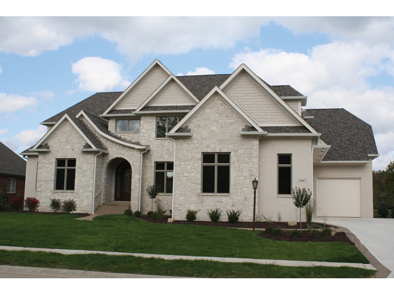 Country French Home Plan Front of Home - 119S-0008 | House Plans and More