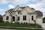 European House Plan Front of Home - 119S-0008 | House Plans and More