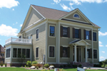 Colonial House Plan Front of Home - 119S-0010 | House Plans and More
