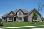 Country French Home Plan Front of Home - 119S-0012 | House Plans and More