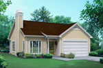 Cabin & Cottage House Plan Front of Home - 121D-0010 | House Plans and More