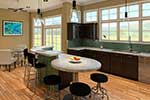 Craftsman House Plan Kitchen Photo 03 - 121D-0011 | House Plans and More