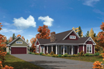 Craftsman House Plan Front of Home - 121D-0016 | House Plans and More