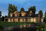 Colonial Floor Plan Front of Home - 121D-0026 | House Plans and More