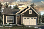 Craftsman House Plan Front of Home - 121D-0028 | House Plans and More
