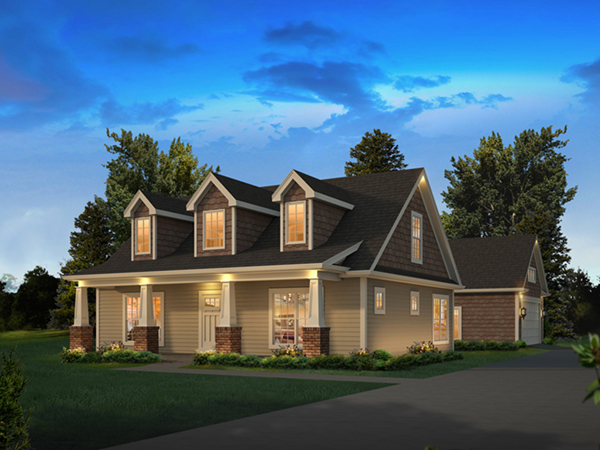 lily country craftsman home plan 121d 0050 house plans country craftsman vacation homes house plans home design