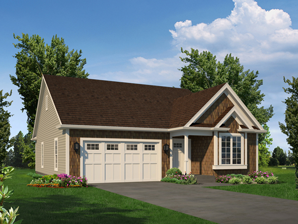 Isabelle narrow ranch home plan 121d 0052 house plans for Narrow ranch house plans