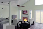 Beach & Coastal House Plan Great Room Photo 02 - 122D-0001 | House Plans and More