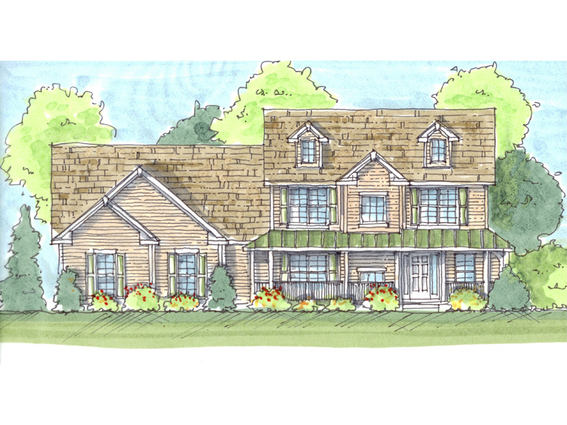 stonegate country home plan 123d 0005 house plans and more