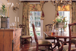Colonial House Plan Dining Room Photo 01 - 128D-0001 | House Plans and More