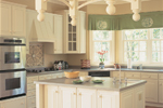 Colonial Floor Plan Kitchen Photo 01 - 128D-0001 | House Plans and More