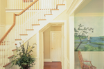 Colonial Floor Plan Stairs Photo 01 - 128D-0001 | House Plans and More