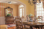 Colonial House Plan Dining Room Photo 01 - 128D-0002 | House Plans and More