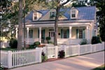 Cape Cod and New England Plan Front of Home - 128D-0003 | House Plans and More
