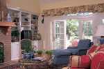 Cape Cod and New England Plan Living Room Photo 01 - 128D-0003 | House Plans and More