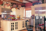 Cabin and Cottage Plan Kitchen Photo 01 - 128D-0004 | House Plans and More