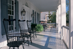 Cape Cod and New England Plan Porch Photo 01 - 128D-0004 | House Plans and More