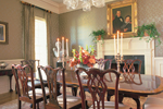 Colonial Floor Plan Dining Room Photo 01 - 128D-0005 | House Plans and More