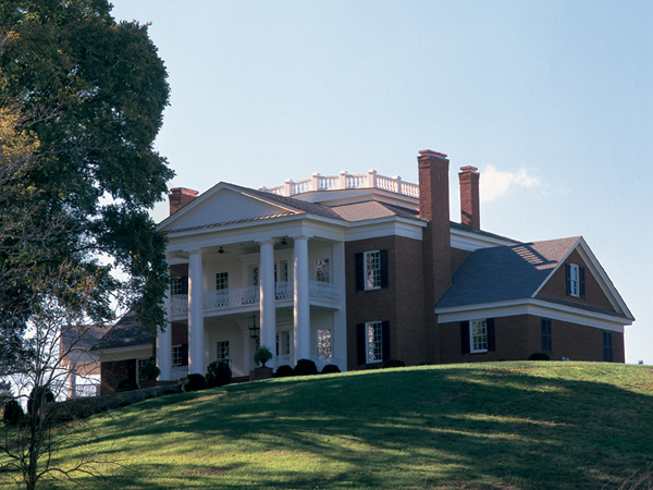 Southern Colonial Plantation Home Plans