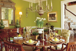 Southern Plantation Plan Dining Room Photo 01 - 128D-0007 | House Plans and More