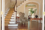 Luxury House Plan Stairs Photo 01 - 128D-0007 | House Plans and More
