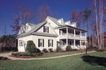 Southern Plantation Plan Front Photo 01 - 128D-0008 | House Plans and More