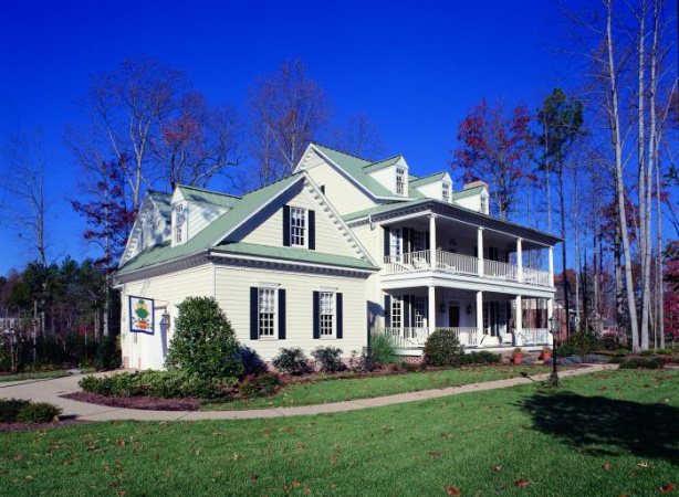 Vacation House Plan Front Photo 02 - 128D-0008 | House Plans and More