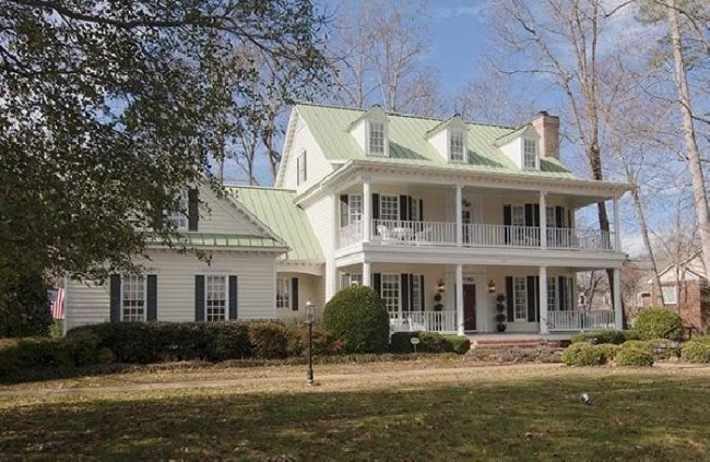 Southern Plantation House Plan Front Photo 06 - 128D-0008 | House Plans and More