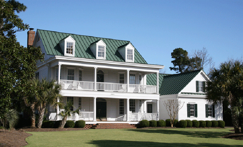 Southern Plantation House Plan Front Photo 08 - 128D-0008 | House Plans and More