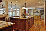Plantation House Plan Kitchen Photo 02 - 128D-0008 | House Plans and More