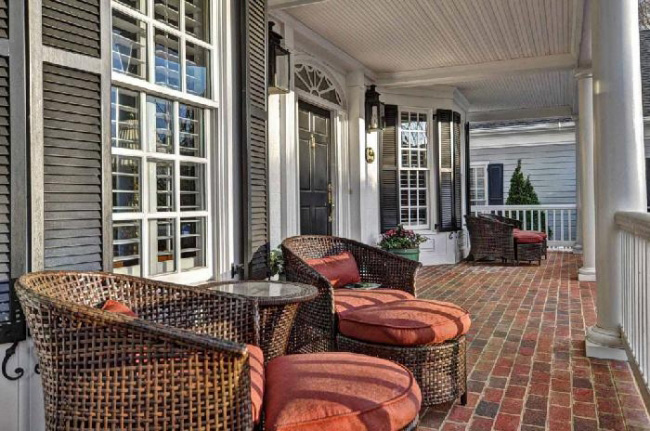 Southern Plantation House Plan Porch Photo 01 - 128D-0008 | House Plans and More