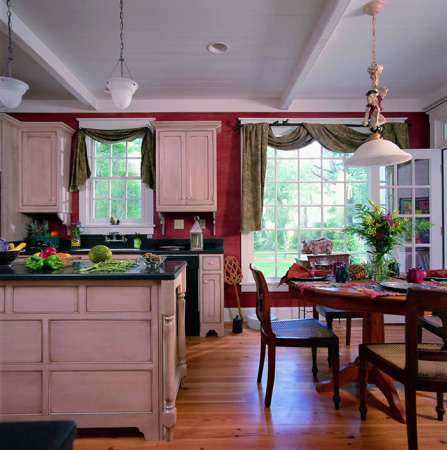 Traditional House Plan Kitchen Photo 01 - 128D-0010 | House Plans and More