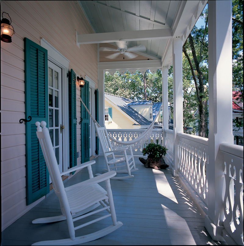 Cape Cod & New England House Plan Porch Photo 02 - 128D-0010 | House Plans and More
