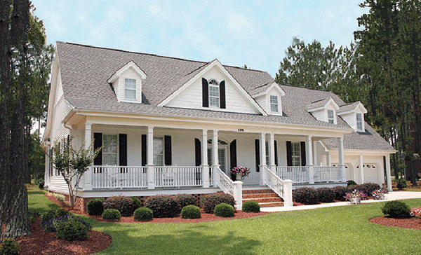Southern Plantation Home Plans