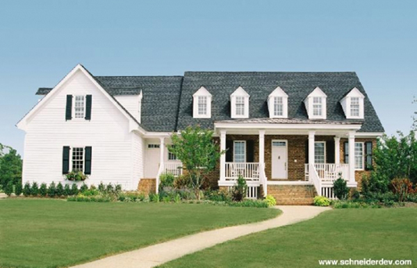 Virginia farmhouse home plan 128d 0143 house plans and more for Virginia farmhouse plans