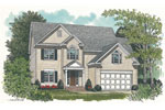 Traditional House Plan Front Image - 129D-0004 | House Plans and More