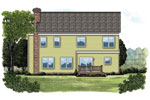Traditional House Plan Color Image of House - 129D-0004 | House Plans and More